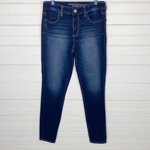 American Eagle High Rise Jeggings Size 10